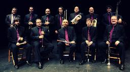 Concert de la cobla Ciutat de Girona. Font: web de l'Auditori de Girona