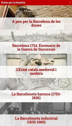 Rutes per la història