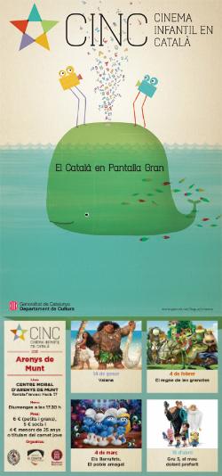 CINC, Cinema Infantil en Català: projeccions a Arenys de Munt