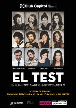Representació d'El Test, de Jordi Vallejo