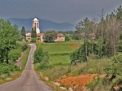 Poble de Vallcanera. Font: web http://silsdelaselva.files.wordpress.com