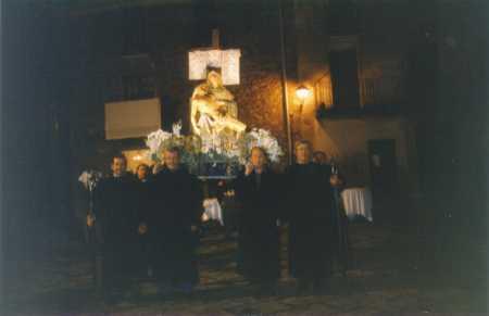 Processó dels Dolors a Mieres (imatge d'arxiu). Font: elcami.cat