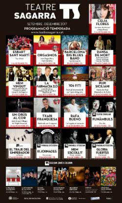 Programació de setembre a desembre del Teatre La Colmena