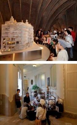 Activitats familiars a La PedreraLa Pedrera (Barcelona) Desembre