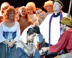 Representació d'Els Pastorets de La Garriga