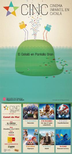 CINC, Cinema Infantil en Català: projeccions a Canet de Mar
