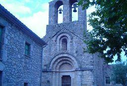 Església Parroquial de Sant Pere a Albanyà. Font: bisbatdegirona.cat