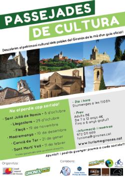 Passejades de Cultura al Gironès. Font: Consell Comarcal del Gironès