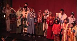 Representació d'El primer Nadal dels Pastors, de mossèn Rossend Fortunet