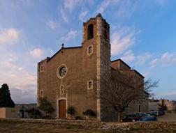 Església Parroquial de Nostra Senyora de la Misericòrdia de Sarrià de Ter. Font: Viquipèdia