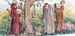 Representació d'Els Pastorets de l'Escola Joan de Palà