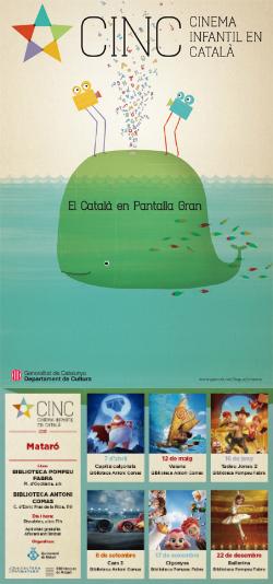 CINC, Cinema Infantil en Català: projeccions a Mataró