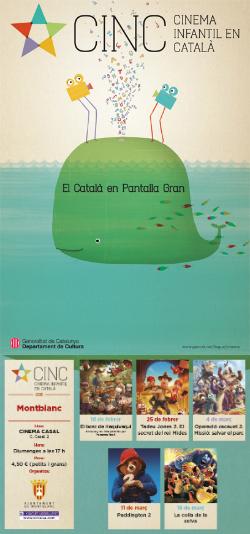 CINC, Cinema Infantil en Català: projeccions a Montblanc
