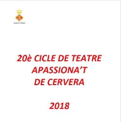 20è Cicle de teatre 'Apassiona't'