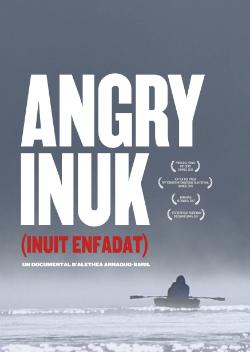 """Projecció del documental """"Angry Inuk (Inuit enfadat)"""", d'Alethea Arnaquq-Baril (2016). Font: web del Documental del mes"""