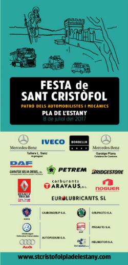 Festa de Sant Cristòfol 2017 a Banyoles. Font: Lith Gràfiques