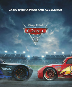Projecció de la pel·lícula Cars 3