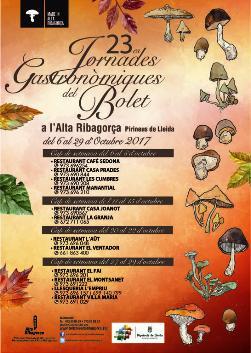 23es Jornades Gastronòmiques del Bolet a l'Alta Ribagorça