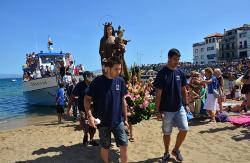Festa de la Mare de Déu del Carme a l'Escala