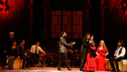 Espectacle Ópera y flamenco, Historia de un amor