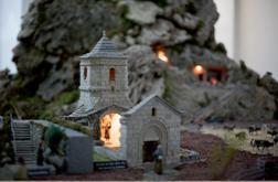 Pessebre monumental de Toni Colomé a Ripoll. Font: web de l'Ajuntament de Ripoll