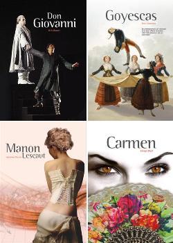 Temporada 2016-2017 de l'Associació d'Amics de l'Òpera de Sabadell: Don Giovanni, Goyescas, Manon Lescaut i Carmen