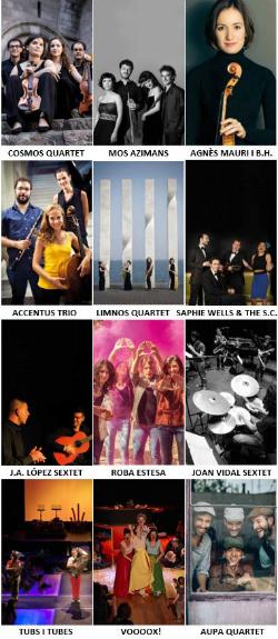 Programa de concerts de la Xarxa de Músiques a Catalunya