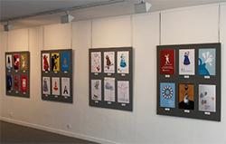 Exposició dels cartells seleccionats pel concurs de la Fira Internacional de Ceràmica. Argillà Argentona 2017