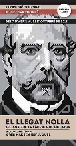 Exposició 'El llegat Nolla: 150 anys de la fàbrica de mosaics'