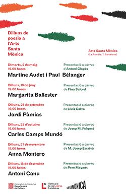 Dilluns de Poesia 2017