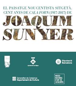 Instal·lació 'El paisatge noucentista sitgetà. Cent anys de «Cala Forn»', de Joaquim Sunyer