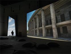 Instal·lació 'Olympia' de David Claerbout