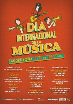 Celebració del Dia Internacional de la Música a Argentona