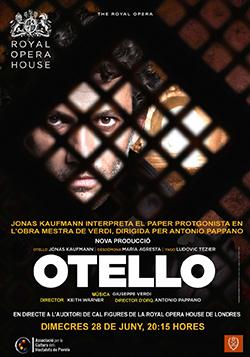 Projecció de l'òpera Otello, de Guiseppe Verdi