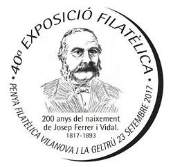 40a Exposició FilatèlicaPenya Filatèlica (Vilanova i la Geltrú)…