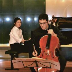 Concert de Ferran Albric (violoncel) i Ah Ruem Ahn (piano)