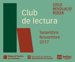 Club de lectura 'Cicle Revolució Russa'
