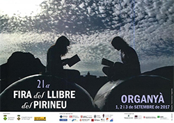 XXI Fira del Llibre del Pirineu a Organyà