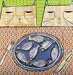 Exposició 'Imaginarium: pintures de Rafael Romero'. Pintura