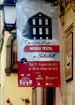 Exposició 'El perquè d'un Museu Tèxtil a Sabadell'