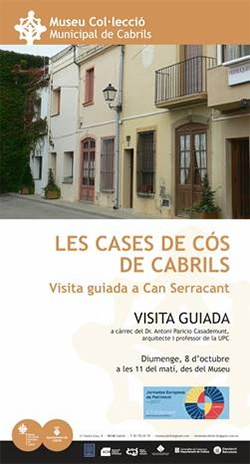 Visita guiada a Can Serracant