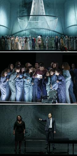 Representació de l'òpera Un ballo in maschera, de Giuseppe Verdi