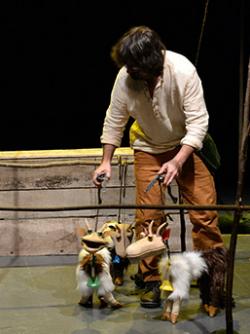 Xip Xap Companyia de Teatre de Carrer, amb El llop i les 7 cabretes