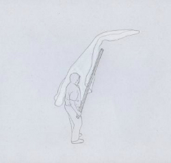 Exposició 'Remover con una vara de madera', de Matteo Guidi