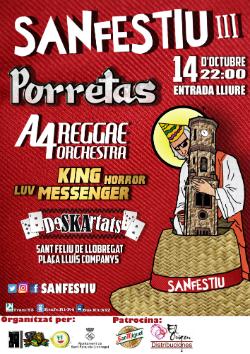 SanFestiu III, Festival de Música de Sant Feliu de Llobregat
