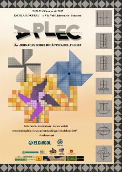 3es Jornades APLEC de Didàctica del Plegat per a Educadors