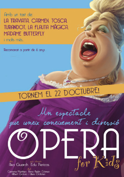 Espectacle Opera for kids