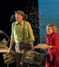 Companyia Teatre al detall, amb La nena dels pardals