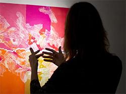 Exposició 'Trasllats fronterers', d'Andrea Allen. Pintura