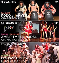 Programació de desembre al Teatre La Massa
